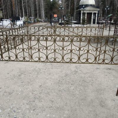 Оградка кованная