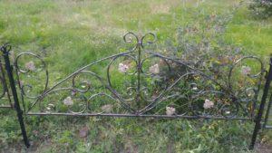 оградки на кладбище в Тюмени недорого
