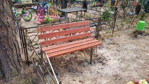 скамья на кладбище купить в Тюмени